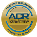 Logo for ACR Accreditation for CT program